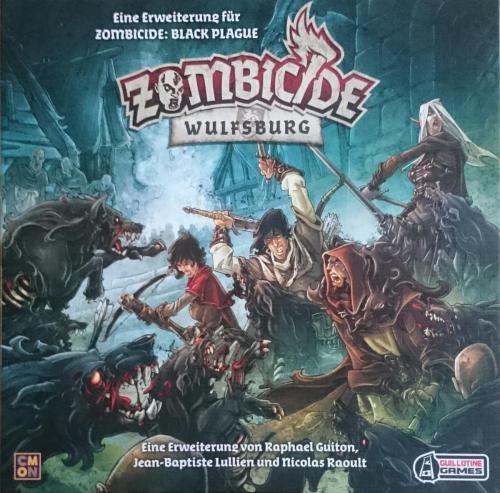 Zombicide Black Plague - Wulfsburg Erweiterung