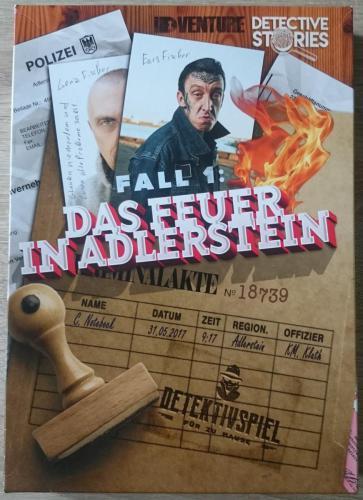 Detective Stories Fall 1: Das Feuer in Adlerstein
